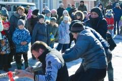 В Усть-Пристани прошли проводы зимы