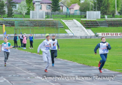 На Усть-Пристанском стадионе прошли соревнования «Шиповка юных»