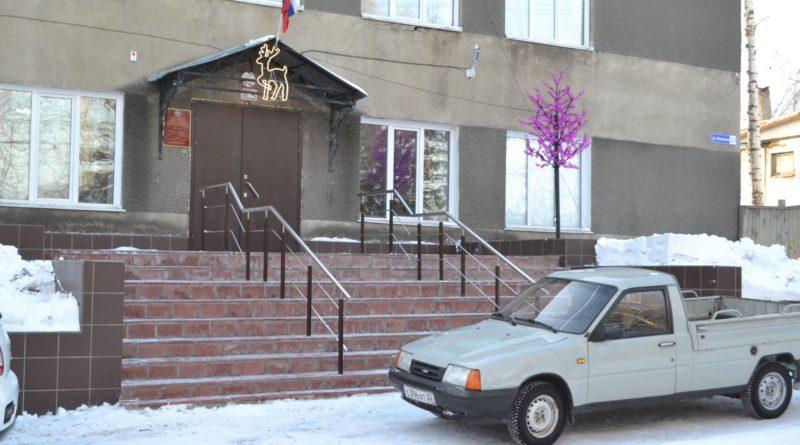 В Усть-Пристанский сельсовет по новому крыльцу!
