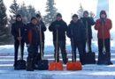 Юнармейцы помогли расчистить Мемориал Славы в Усть-Пристани