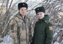 Илья Крюков и Михаил Подопрелов из Усть-Пристани отслужили  в войсках национальной гвардии и недавно вернулись домой