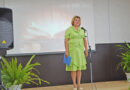 Алена Солодченкова из Елбанки читает стихотворение «Берегите своих детей» на районном конкурсе (видео)