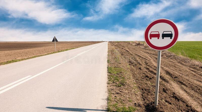 Оставили дорогу  без знаков